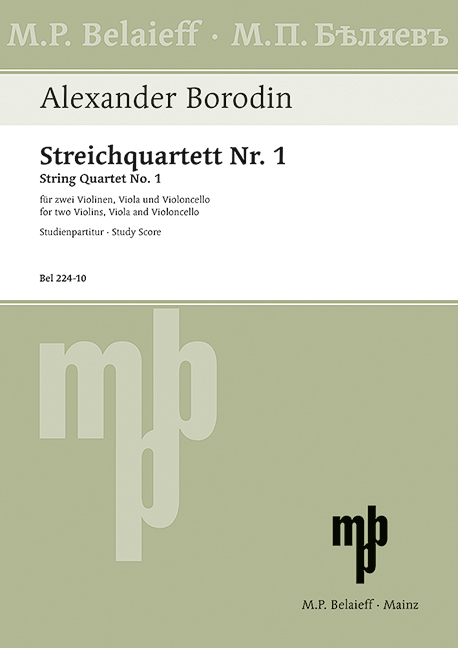 String quartet no.1 in A Major image